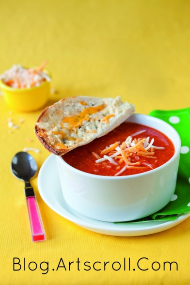 pizza soup - Kids Cooking Made Easy