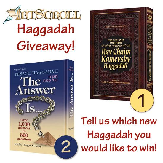 Haggadah-giveaway