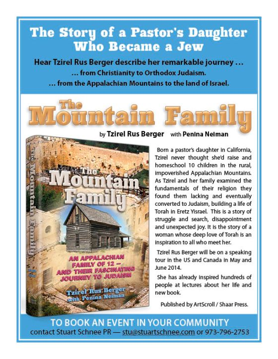 Mountain Family Speaking Tour Flyer