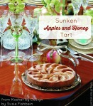 apples and honey tart